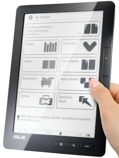 Asus DR-900 - большое и функциональное устройство для чтения