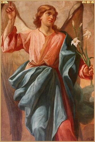 """Ангел """"Златые власы"""", икона в храме"""
