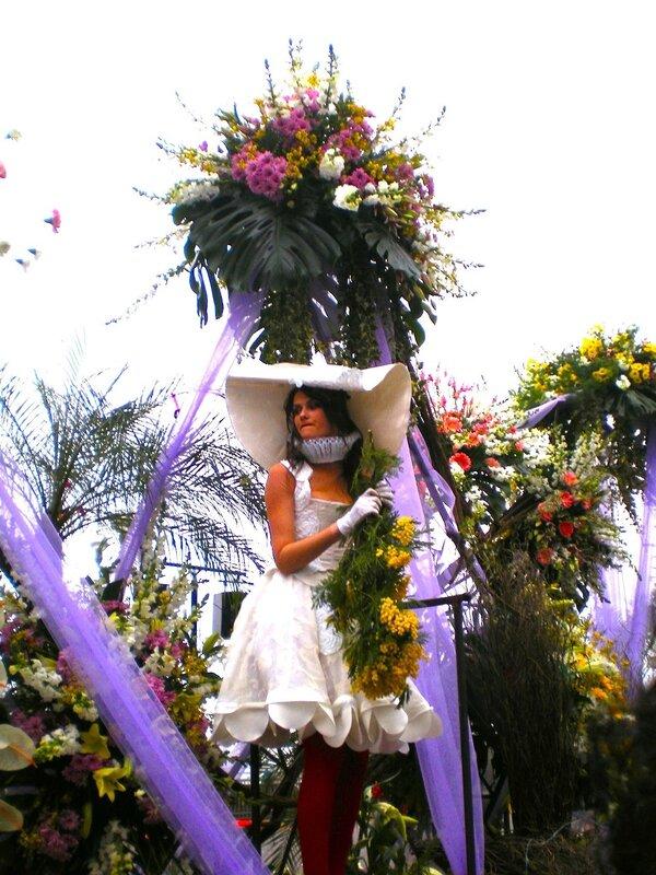 """Ницца. Карнавал """"Битва цветов"""""""