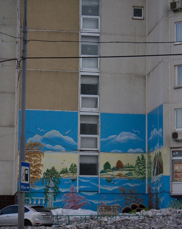 Дом с рисунком