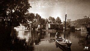 Разлив Днепра 1941 года. Фото с сайта TRUST.UA