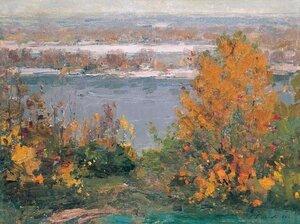 Осінь на дніпровських схилах