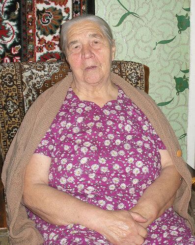 старенькая бабушка