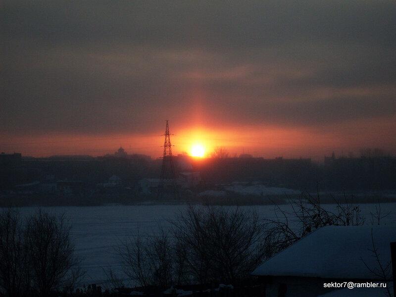 Снова мороз (Фото Троицка) (Троицк  Челябинская область)