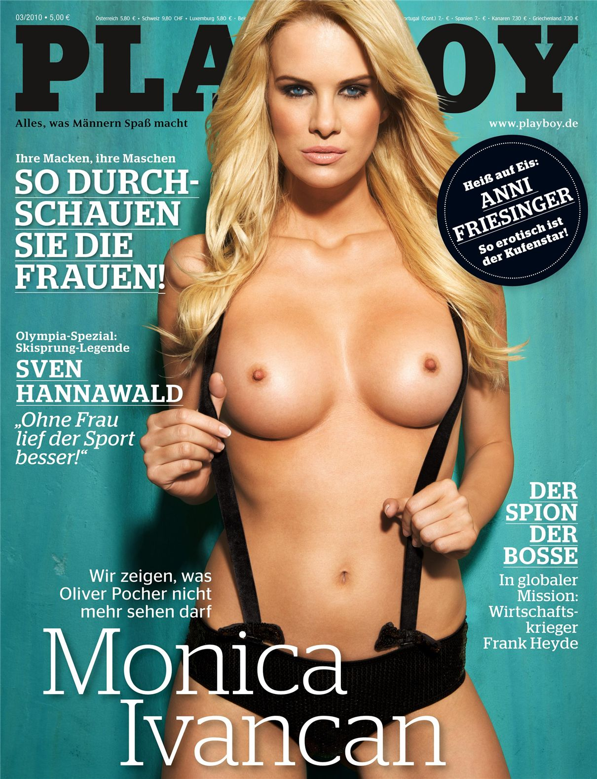 Monica Ivancan in Playboy Germany 03-2010