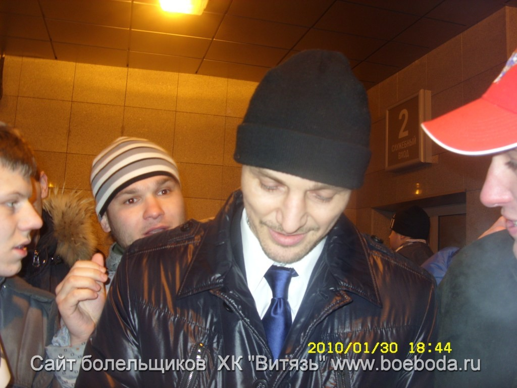 Крис Саймон на Матче Звёзд в Минске. ФОТО