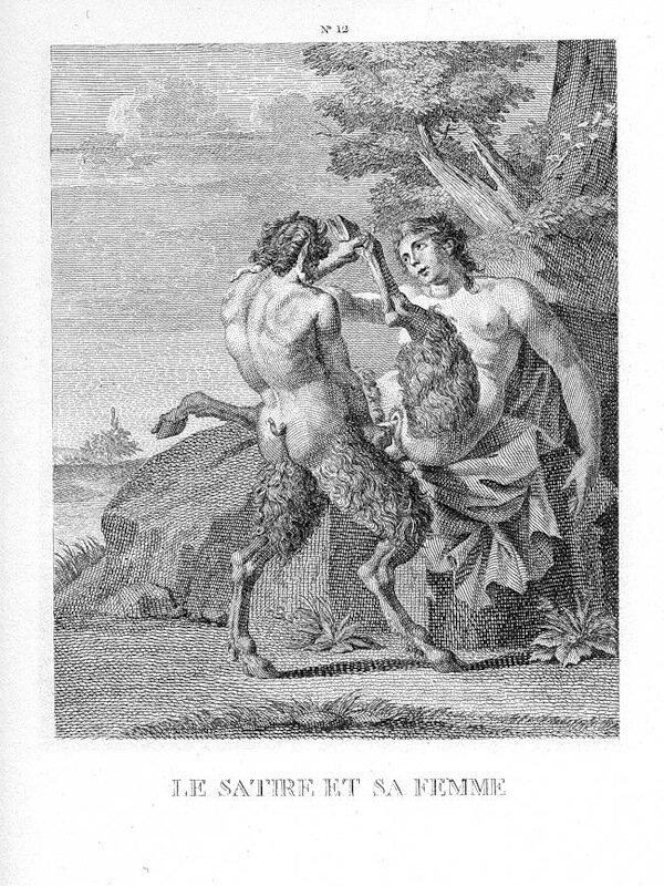 эротические гравюры Агостино Караччи