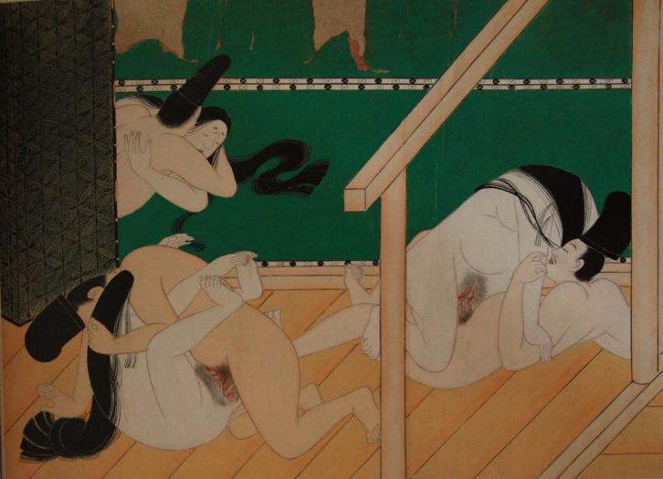 Оригинал взят у katia_lexx в История эротических гравюр в Японии. Предупре