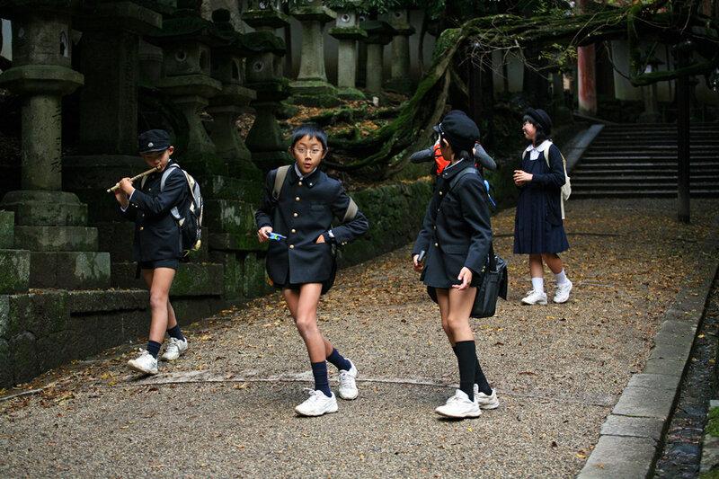 японская мода.