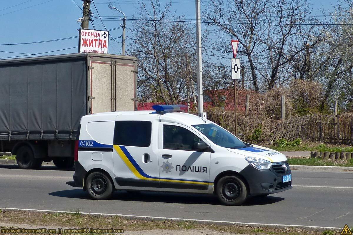 Renault Dokker - Поліція