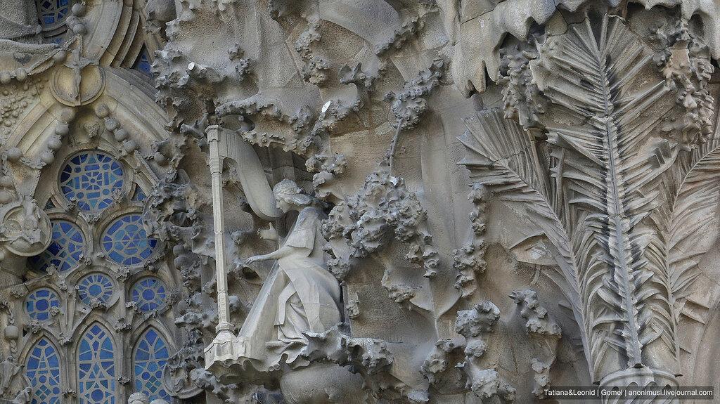 Саграда Фамилия или Храм Святого Семейства. Барселона