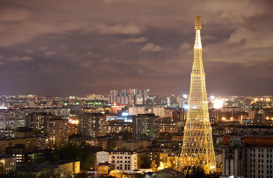 Шедевр инженерного искусства. Шуховская башня в Москве (20 фото)
