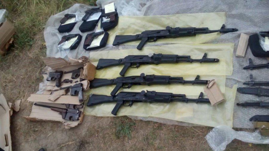 Крупную партию оружия изъяли у граждан Брянской области
