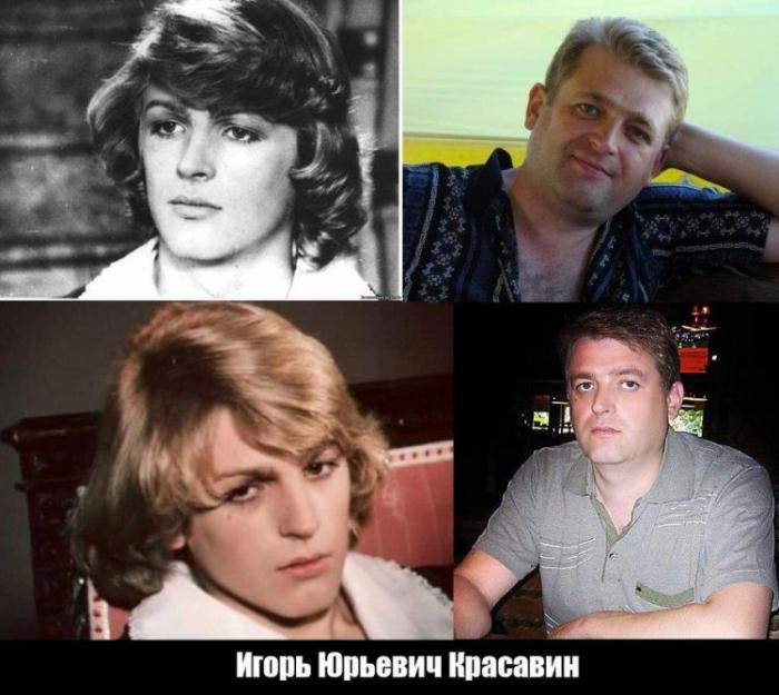 Повзрослевшие дети-актеры из советских фильмов