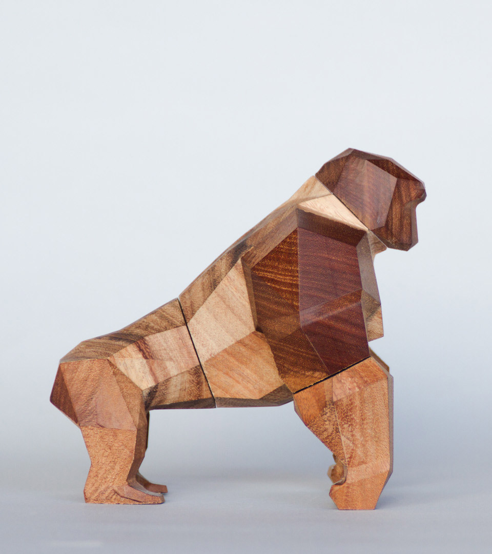 Geometric Wood Toys by Designer Mat Random