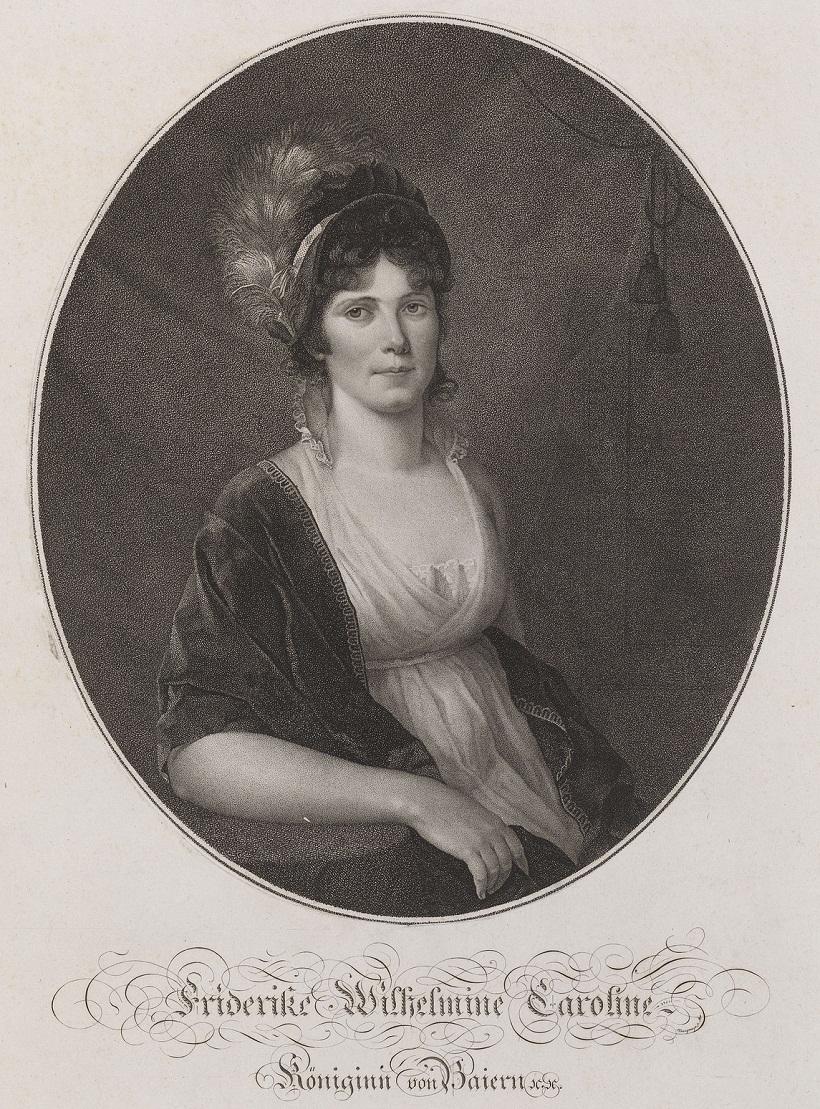 Royal CollectionПосле Мориц Kellerhoven (1758-1830)Фридерике Кэролайн (2 Жена Максимилиана I, король Баварии)