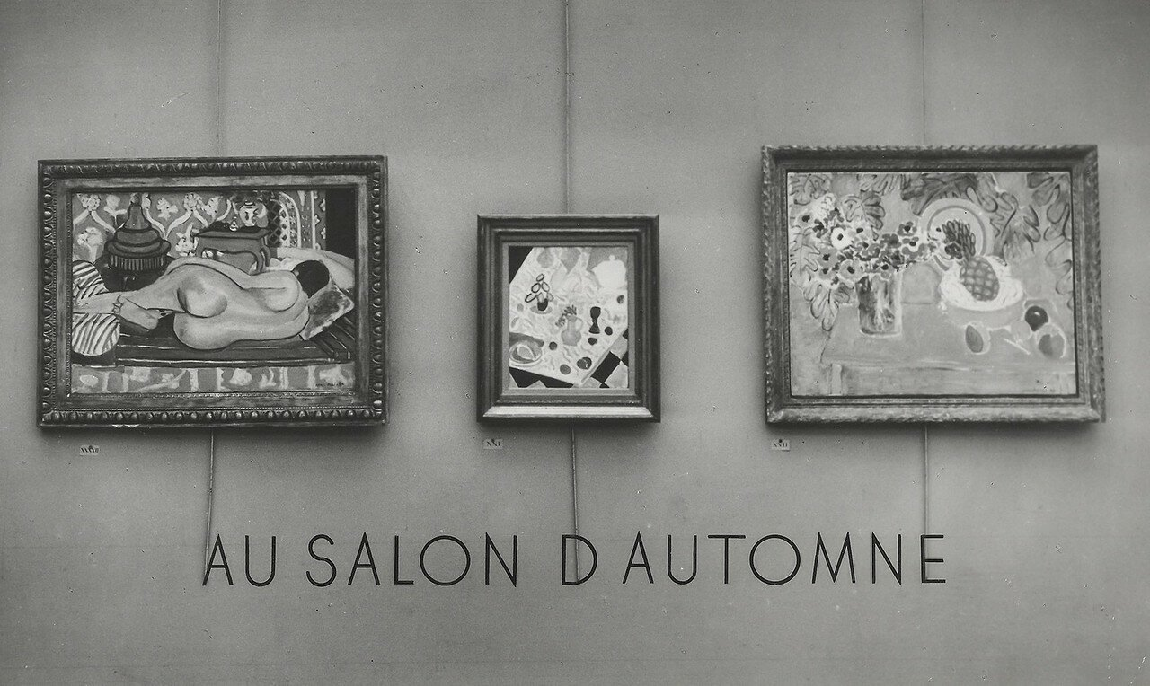 1932. Матисс в Осеннем салоне