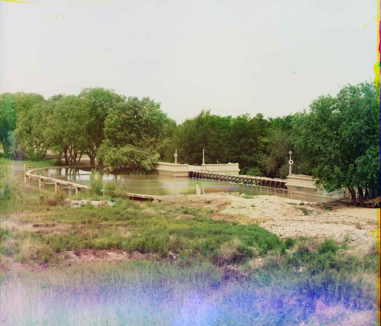 Окрестности Мерва. Байрам-Али. Мургабское имение. Задняя сторона Гундукушской плотины