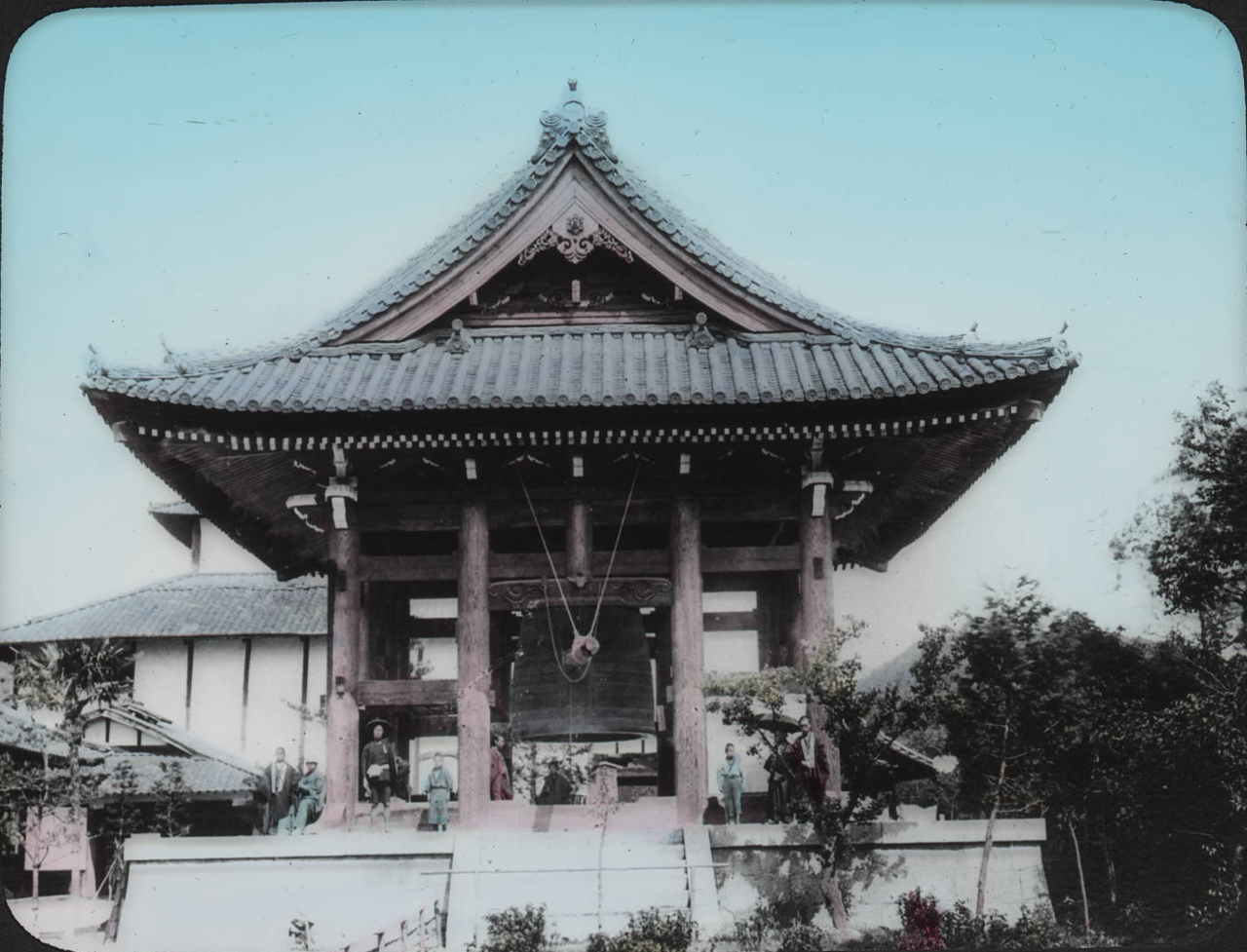 Киото. Колокольня над Дайбуцу