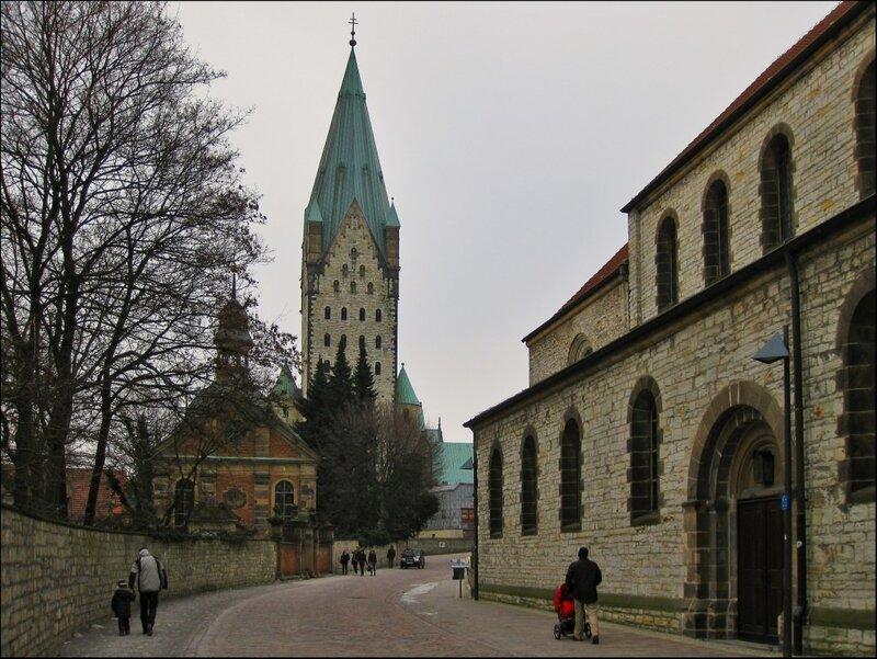 Старая улочка в Падерборне, Падерборн