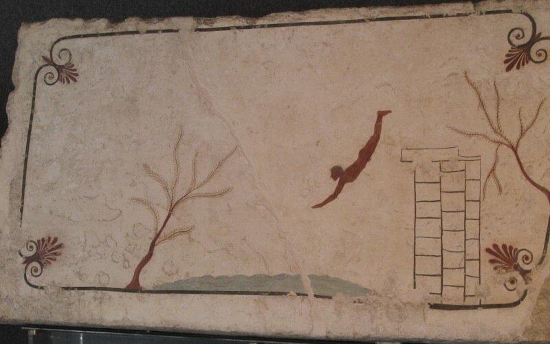 Гробница ныряльщика
