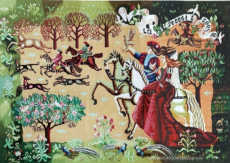 Л. Якина (С.-Птб.). «Охота» (2004).