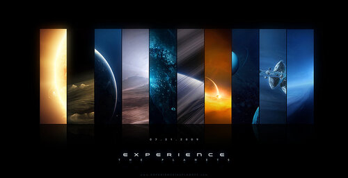 experience the planets