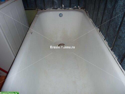 Реставрация ванн г. Москва, 3й просп. Новогиреево - 09 - Помыта