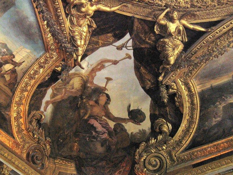 потолки версаля