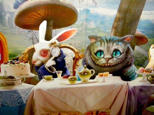 Кролик с Чеширом