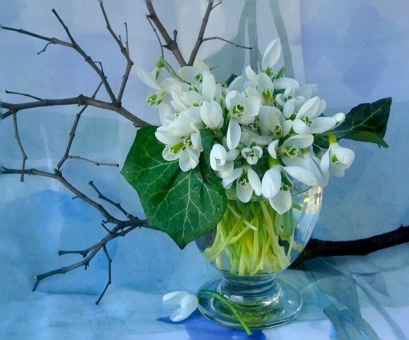 Весна а открытках
