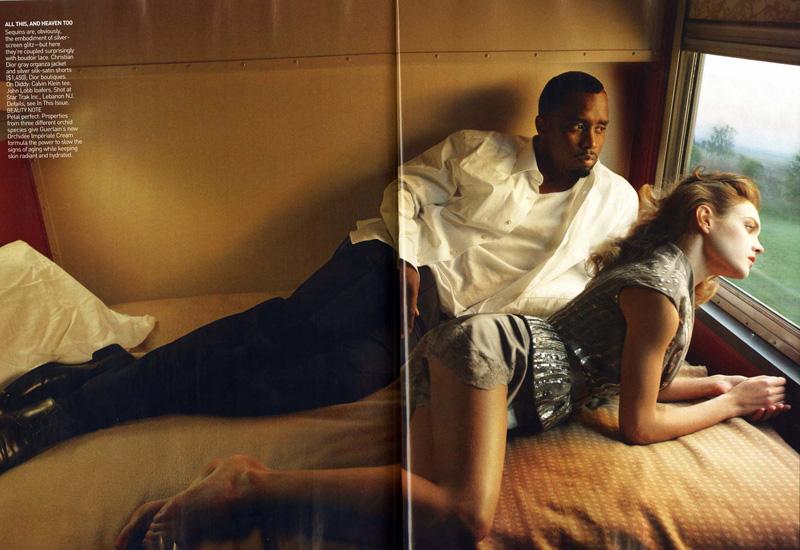 Классическая любовная история от Анни Лейбовиц, для Vogue US 2010