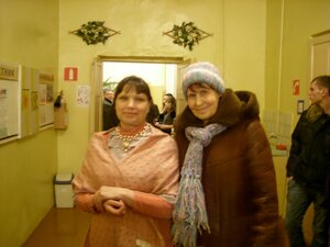 С гостьей из Санкт-Петербурга Петрушиной Раисой