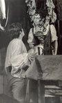 """С.Садальский - Кавалер Рипафратта,Л.Гарница - Мирандолина. ГИТИС, 1973 год. Дипломный спектакль """"Хозяйка гостиницы"""" К.Гольдони."""