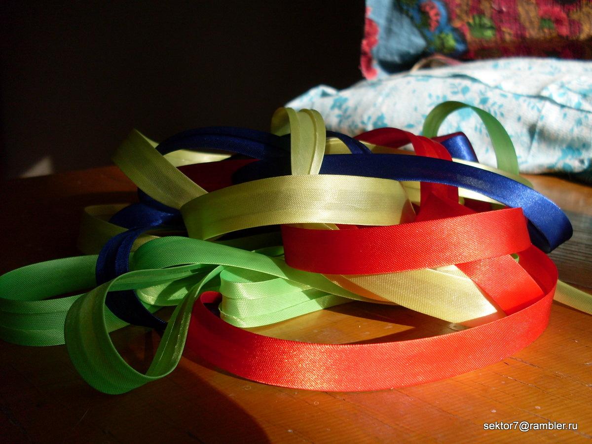 Цветные ленточки