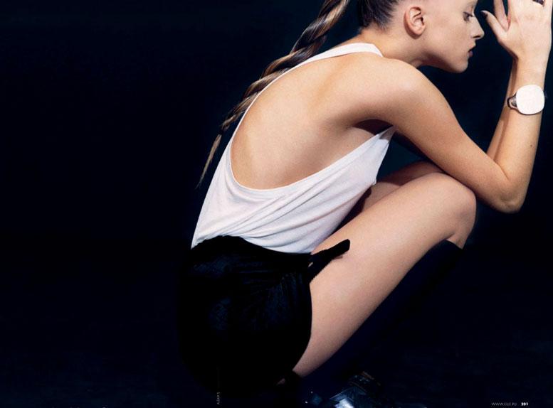 Marcelina Sowa - ELLE Russia 2-2010