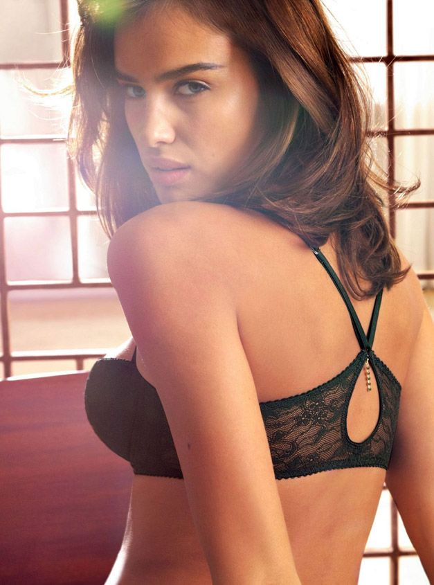 Irina Sheik - Intimissimi Lingerie Collection Winter 2010