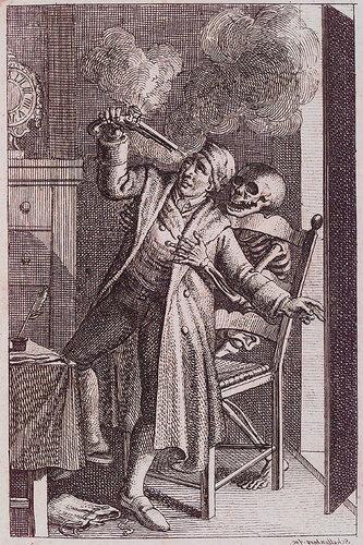 F.R. Schellenberg. Freund heins Erscheinungen. Winterthur : Heinrich Steiner und Comp., 1785. Page 0.16.