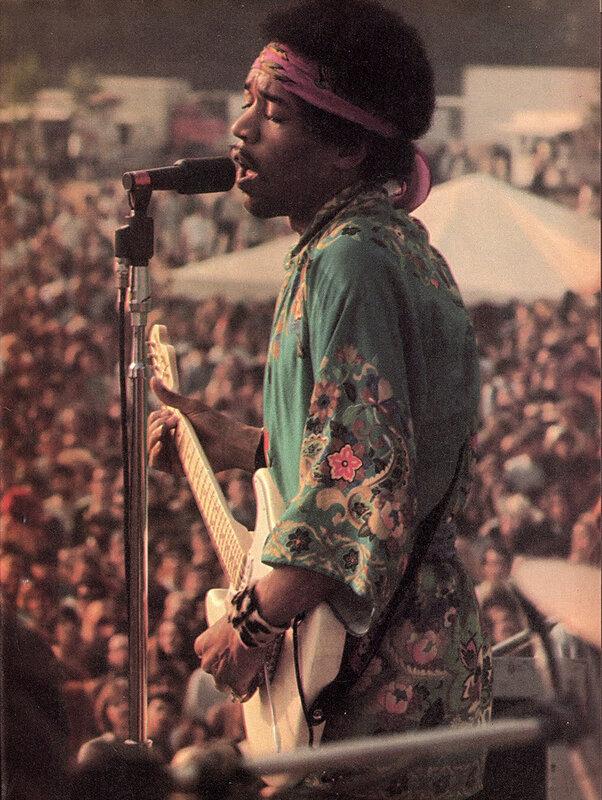 Famous People.Jimi Hendrix