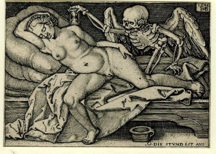 эротические гравюры 16-17 век