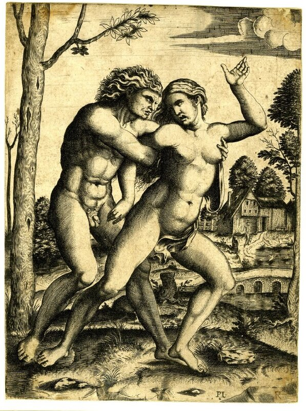 Секс и эротика в старых гравюрах