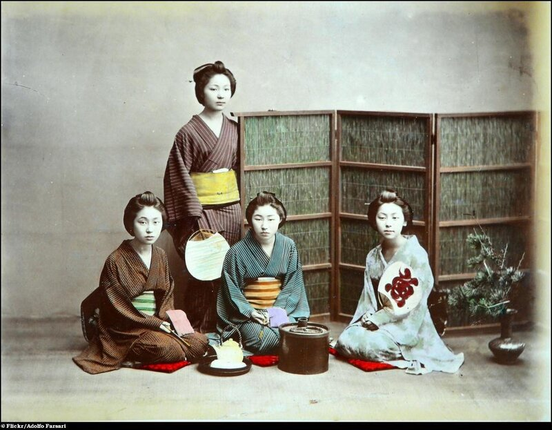 Adolfo Farsari. Old Japanese Photographs