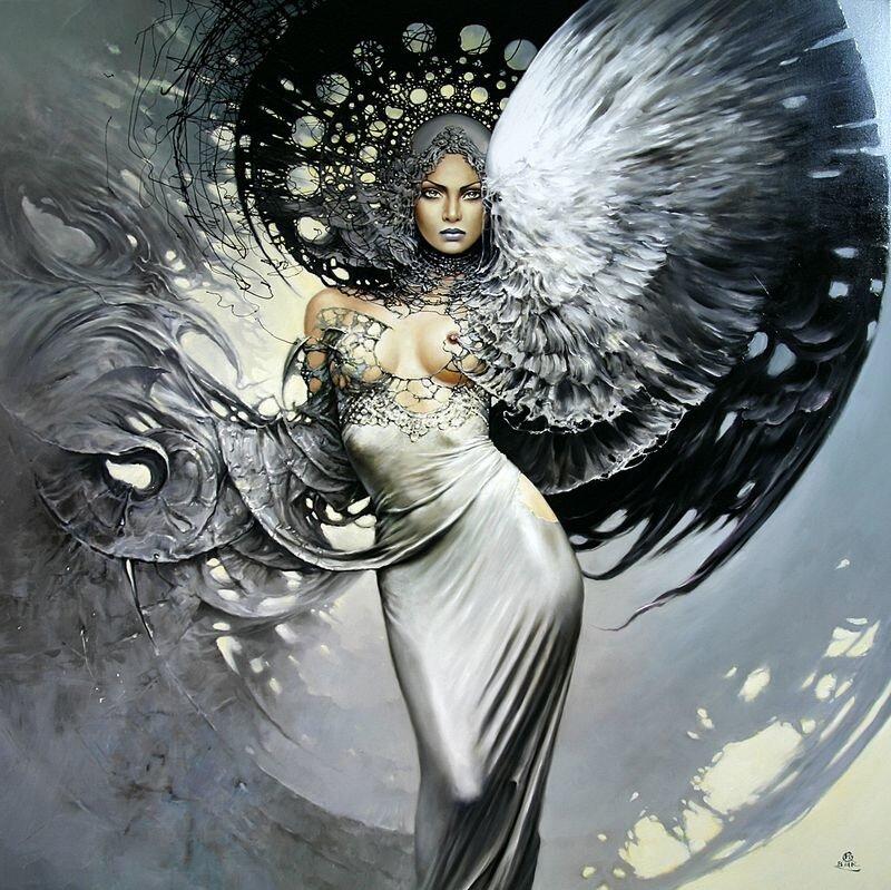Женщины Ангелы от Karol Bak