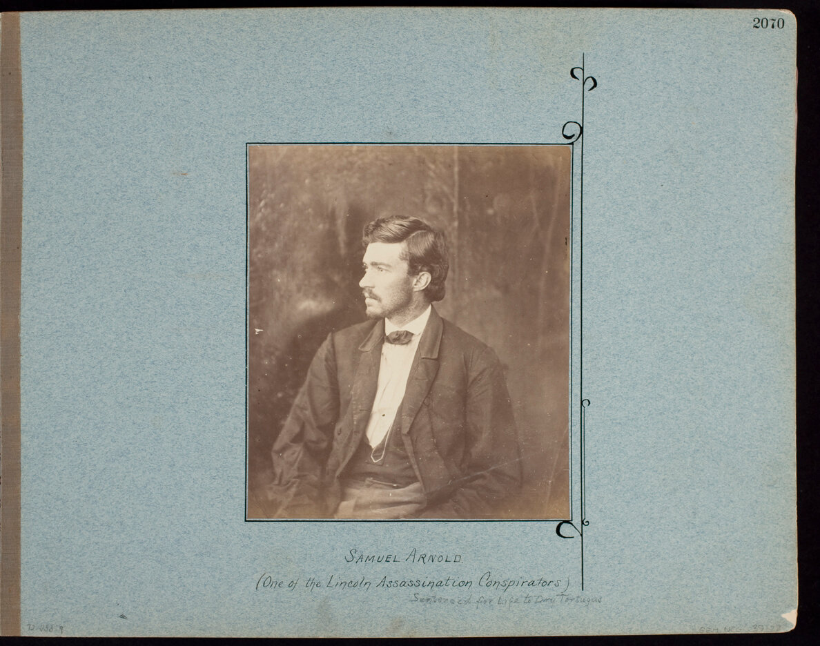 Samuel Arnold. (One of the Lincoln Assassination Conspirators)