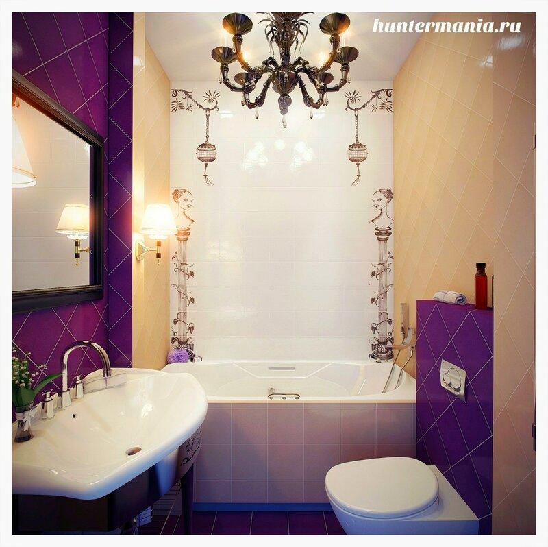 Как оформить ванную комнату
