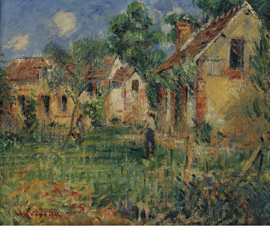 Gustave Loiseau - Small Farm in the Outskirts of Caen, 1928.jpeg