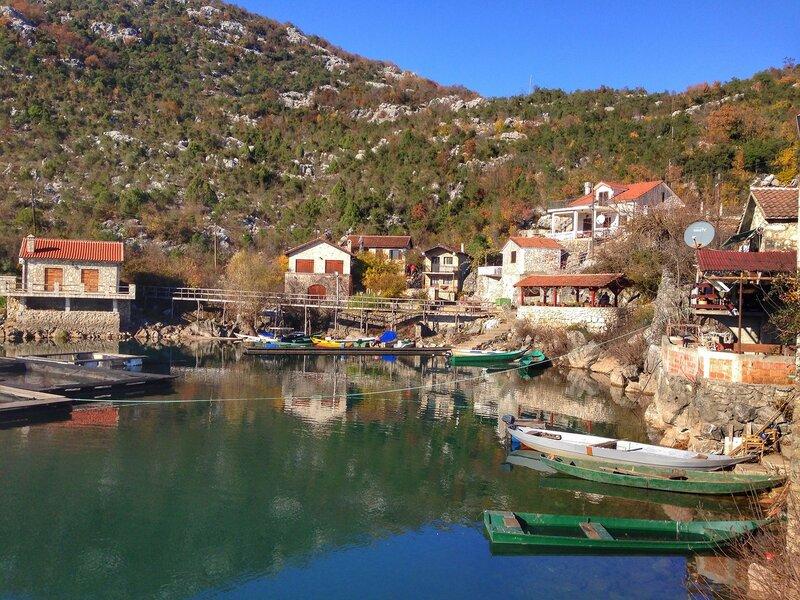 Каруч в декабре, Скадарское озеро
