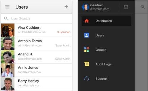 Google обновил корпоративное приложение Google Admin для iOS