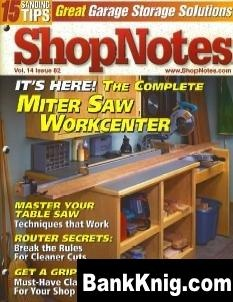 Журнал ShopNotes №82 (2005) pdf 21Мб