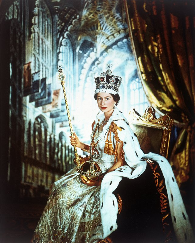 Queen Elizabeth II by Cecil Beaton, 2 June 1953